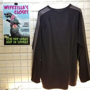 The North Face Sweaters - The North Face Black Long Sleeve Fleece Top XXL